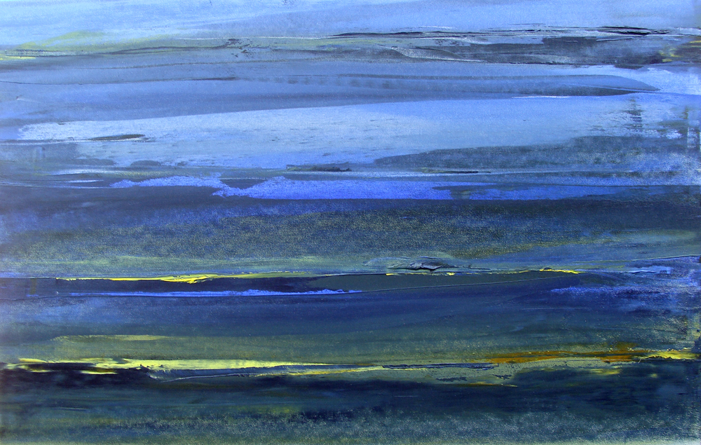 Seascape. Oil on Canvas. 41x26in. 2009